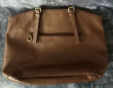 Francinel Paris Brown Leather Handbag Sholder Bag