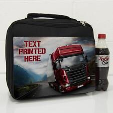 Personalizado Hombres camión conductor de camión gran aislado almuerzo Bolso Regalo Papá LB002