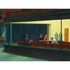 Edward Hopper Nighthawks Iconic Painting Large Wall Art Print 18X24 In