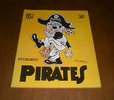 1957 PITTSBURGH PIRATES OFFICIAL YEARBOOK