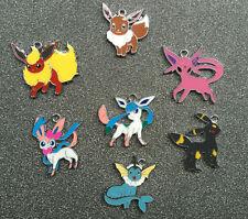 20pcs cartoon Pokemon go Metal Charms DIY necklace Jewelry Making Pendants G-011