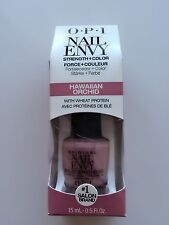 NEW OPI Nail Envy Nail Polish Strengthener with protein HAWAIIAN ORCHID 15ml