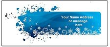 30 Personalized Address Labels Christmas Buy 3 get 1 free (nd53)