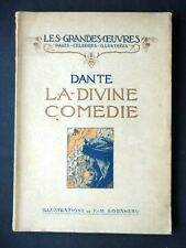 DANTE - LA DIVINE COMÉDIE - ILLUSTRATIONS ROGANEAU EDITIONS LAURENS 1912