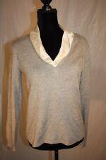 Lauren Ralph Lauren Pullover Cardigan Sweater Silk Cashmere size medium