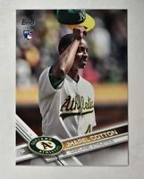 2017 Topps #451 Jharel Cotton RC - NM-MT
