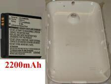 Coque Blanche + Batterie 2200mAh type HB5K1H Pour Huawei U8650