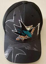 NHL San Jose Sharks Structured Flex Fit Cap Center Ice Collection Hat