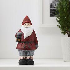 "IKEA CERAMIC SANTA CHRISTMAS 10"" FIGURINE 2018 Gnome Ornament"