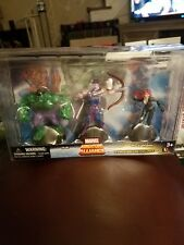 Marvel Miniature Alliance 3 Pack Deluxe Figures Set C Hulk Hawkeye Black Widow
