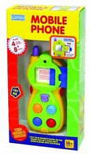 Megcos Mobile Phone with Your Photo Learning Mobile Baby Kids Musical Playing