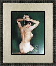 Alberto Vargas The Green Room Custom Framed Print FREE SHIPPING