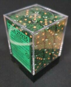 CHESSEX DICE: Speckled Golden Recon 12mm d6 Dice Block (36 Dice)