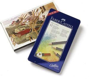 Faber -castell 12 Arte Impugnatura Matite Colorate - Sigillato Scatola