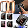 For Fitbit Versa 2 Smart Watch TPU Protective Case Cover with Screen Protector