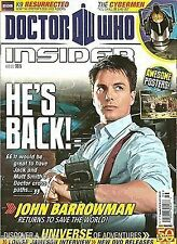 Doctor Who Insider Magazine Issue 5 Captain Jack Omega