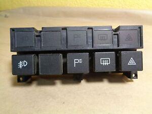 Ferrari 348 Upper Console Push Button Switch Panel # 157152