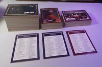 Star Trek: The Next Generation 1991 Paramount 310 Card COMPLETE Set NM/MT