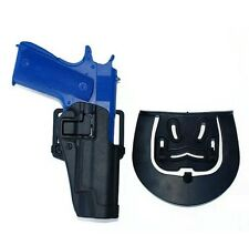 Tactical Pistol Quick Draw Paddle Belt Holster Right Hand for Colt 1911 Black