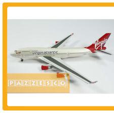 Airplane Virgin Atlantic Boeing 747 400 Jumbo Apollo 1:400 Rare Metal
