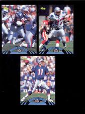1995 EXP New England Patriots Set DREW BLEDSOE BEN COATES CURTIS MARTIN