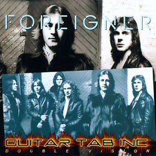 Foreigner Digital Guitar Tab DOUBLE VISION Lessons on Disc Mick Jones