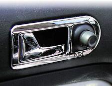 4 CONTOUR MANIJAS DE PUERTA ACERO INOXIDABLE VW PASSAT 3B 96-01