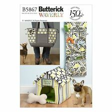 Butterick 5867 Dog Toy, Organizer, House, Mat and Carry Bag Pattern Cats Too!