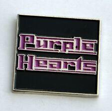 Purple Hearts Mod/Scooter/Soul Quality Enamel Lapel Pin Badge