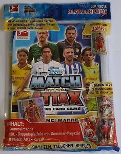 Match Attax Bundesliga 2017-2018 Starter Pack Binder + Limited Card