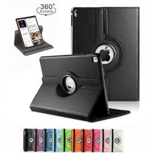 Ipad Pro 12.9 (1st And 2nd Gen) Pu Leather Case Cover With 360 Rotating Stand UK