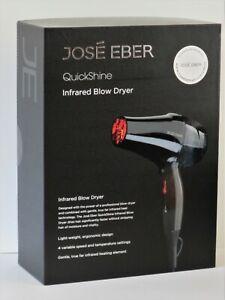 Jose Eber Quickshine Infrared Blow Dryer ~ Gentle Heat ~ NEW