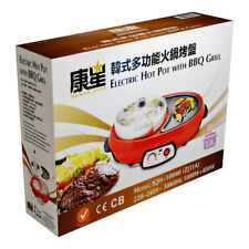 Honor Star Electric Hot Pot with BBQ Grill 3.0L