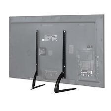 """MMT Universal Table Top TV Stand Legs for Flat screen 37""""-65"""" Height Adjustable"""