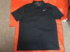Nike 854304 010 Golf Polo SHIRT Dri-FIT Relaxed FIT Men NEW SPORTS TIGER NWT