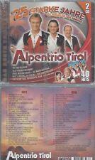 CD--ALPENTRIO TIROL--25 STARKE JAHRE - DIE DOPPEL-CD ZUM JUBILÄUM | DOPPEL-CD