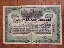 Southern Railway Co  Common Stock 1917