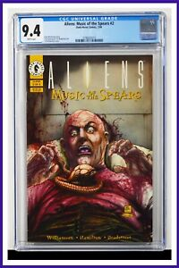 Aliens Music Of The Spears #2 CGC Graded 9.4 Dark Horse February 1994 Comic Book