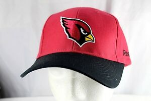 Arizona Cardinals Red/Black NFL Baseball Cap Adjustable