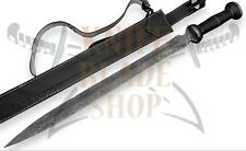 Damascus Sword,Custom Handmade ROMAN GLADIUS SWORD,ROSE WOOD & MICARTA HANDLE