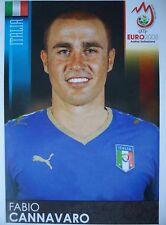 Panini 287 fabio cannavaro italia UEFA Euro 2008 Austria-Switzerland