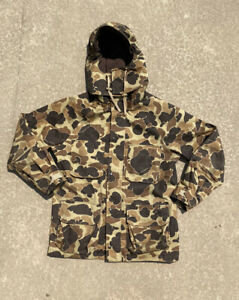 Vintage made in the USA Gore-Tex camo hunting down Jack Size L