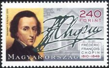 Hungary 2010 Frederic Chopin/Composers/People/Piano/Music/Musicians 1v (n45152)