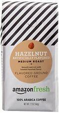 AmazonFresh Hazelnut Flavored Coffee Ground Medium Roast 12 Ounce