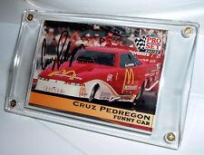 Cruz Pedregon Autographed 1992 Pro Set Racing Card #118 - NMNT