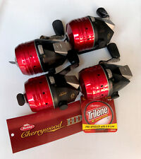 Set Of 4 - NEW Berkley Cherrywood HD Spincast Reels - FREE SHIPPING!