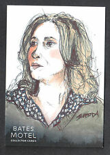 BATES MOTEL SEASON 1 Breygent 2015 SKETCH CARD by JOHN SLOBODA v2