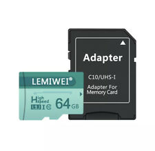 Micro SD TF Card 8GB 16GB 32GB 64GB Class 10 Flash Memory Microsd Card High Qual