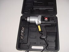 "1/2"" Square Drive Electric Impact Wrench with Case"