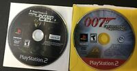 Tom Clancys Splinter Cell & 007 Everything or Nothing PlayStation 2 PS2 TWO GAME